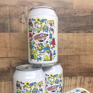 Heroes Beer x Mega ice Hockey 5s' - Beer Label