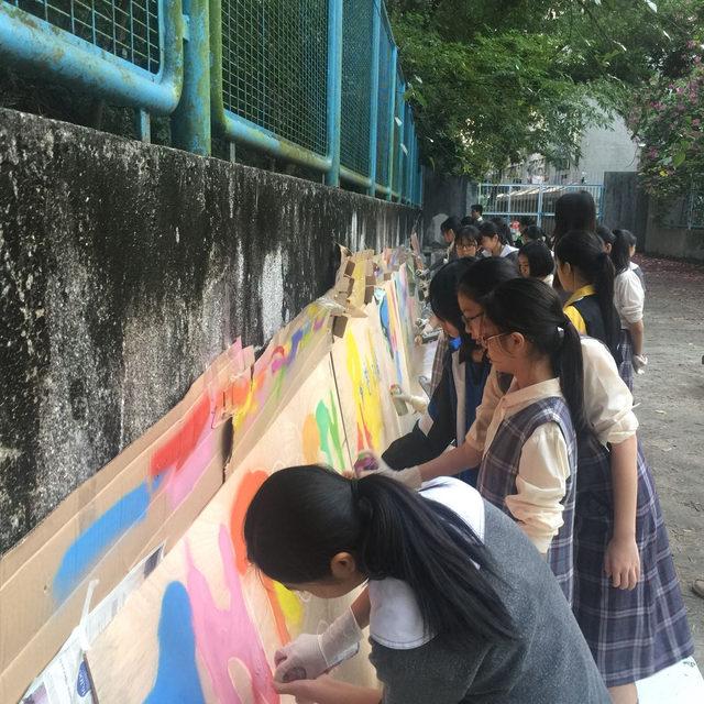 Christ College - Graffiti Workshop