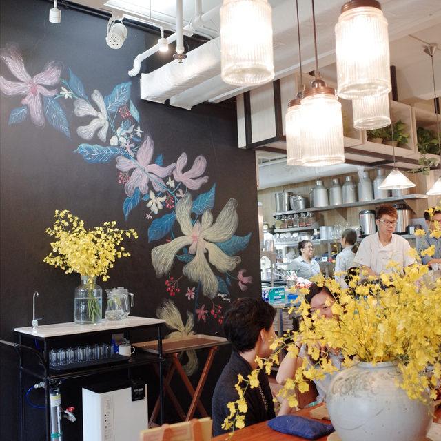 Teakha Kitchen - Mural Project