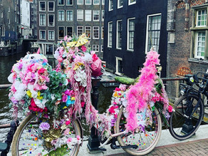 The 'Flower Bike Man' from Amsterdam