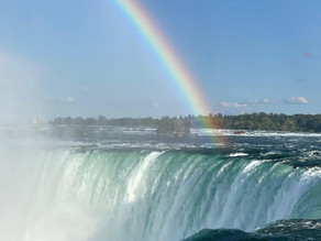Servant of the Glory's visit to the Niagara Falls