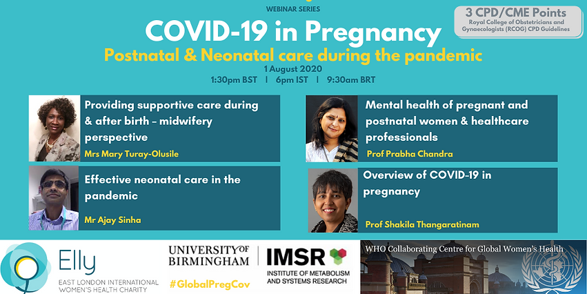 TWITTER - Postnatal & Neonatal care duri