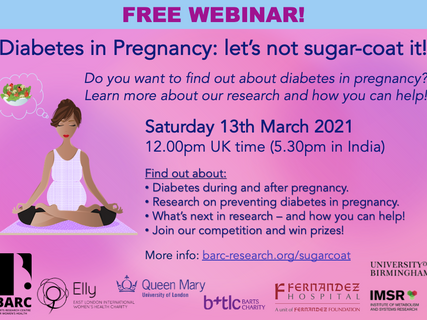 Webinar: Diabetes in Pregnancy