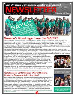 2011 Newsletter