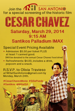 Cesar Chavez Movie Event SAGD 2014