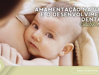 Amamentação natural e a importância no desenvolvimento dentário!