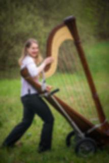 Sonja Fiedler Konzertharfe