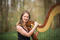 Sonja Fiedler Konzertharfenistin