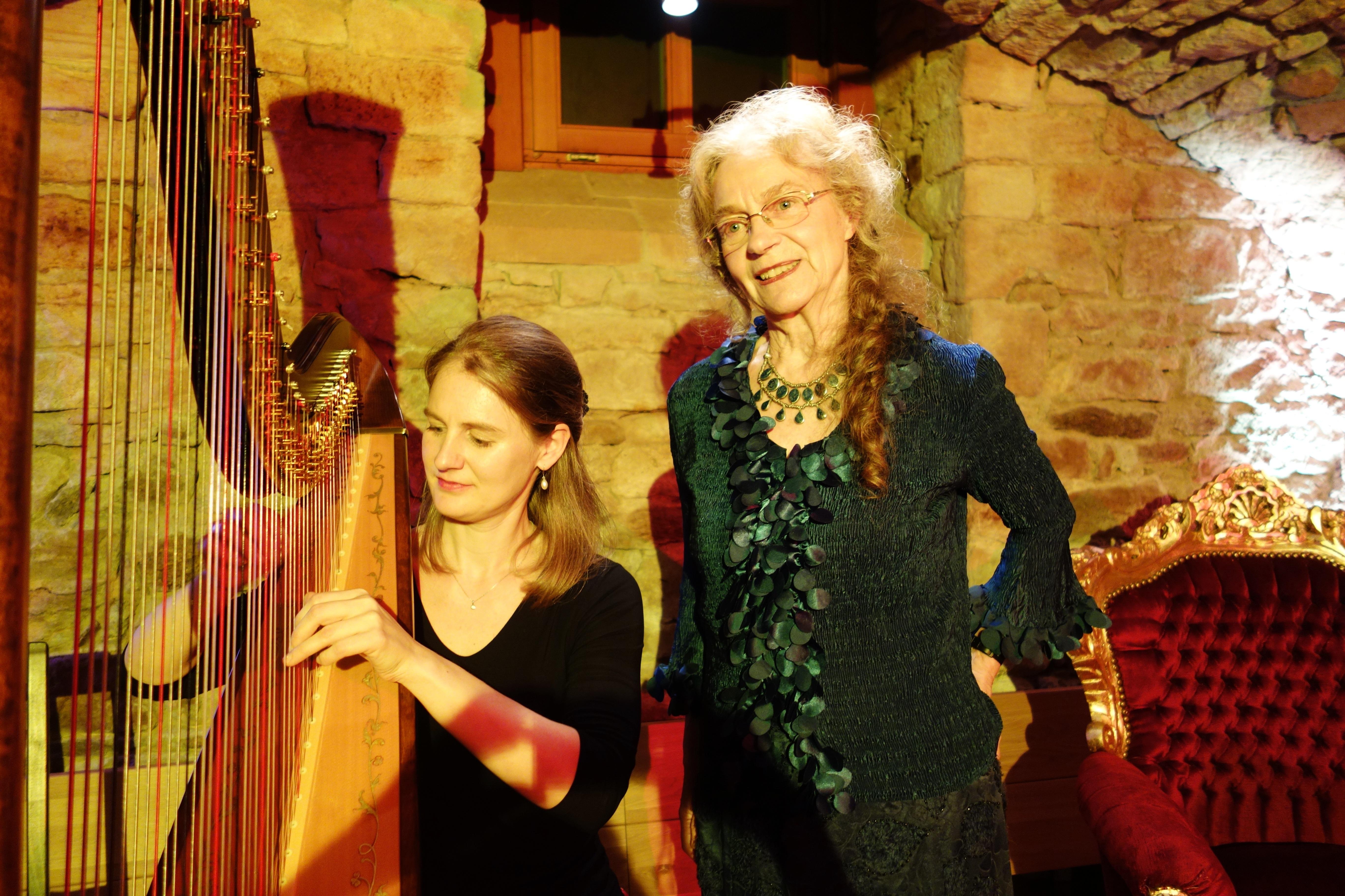 Märchen und Harfe