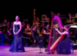 Sonja Fiedler mt Orchester