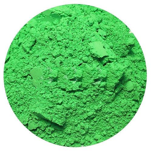 Green NEON loose pigment
