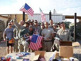 supporting troops and veterans
