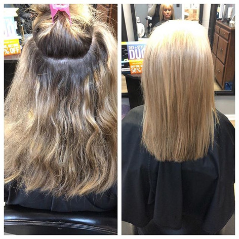 Paul mitchell dual purpose lightener + ultra toner platinum + baby lights foiling technique = perfection 💎 😍