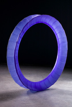 Blue Circular Object