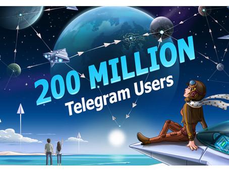 los últimos 30 días  La aplicación rusa de mensajería instantánea Telegram está de enhorabuena