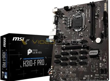 MSI H310-F PRO: La primera placa base de minado para CPUs Coffee Lake