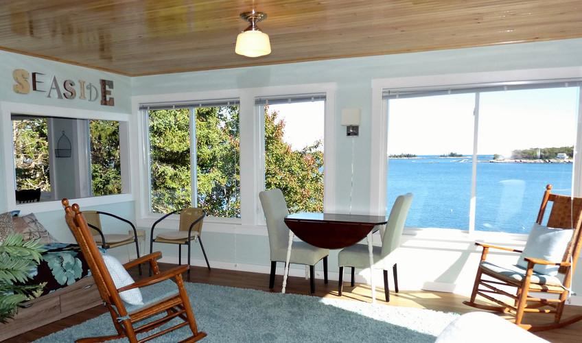 Seaside Cottage Living Room View