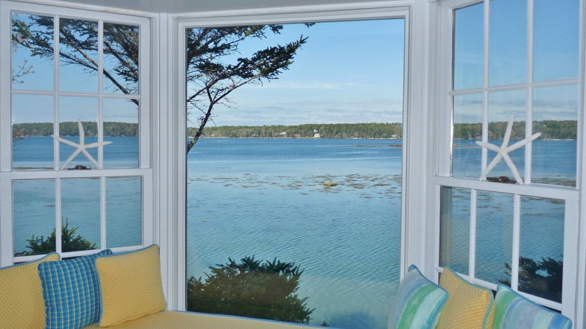 SeaGlass Cottage View