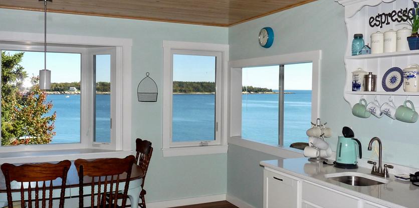 Seaside Cottage Kitchen View