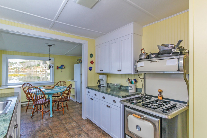 Kitchen with a View! Rosewater Seaside