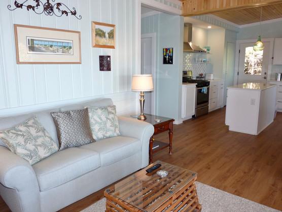 Seaside Cottage Kitchen Living Room