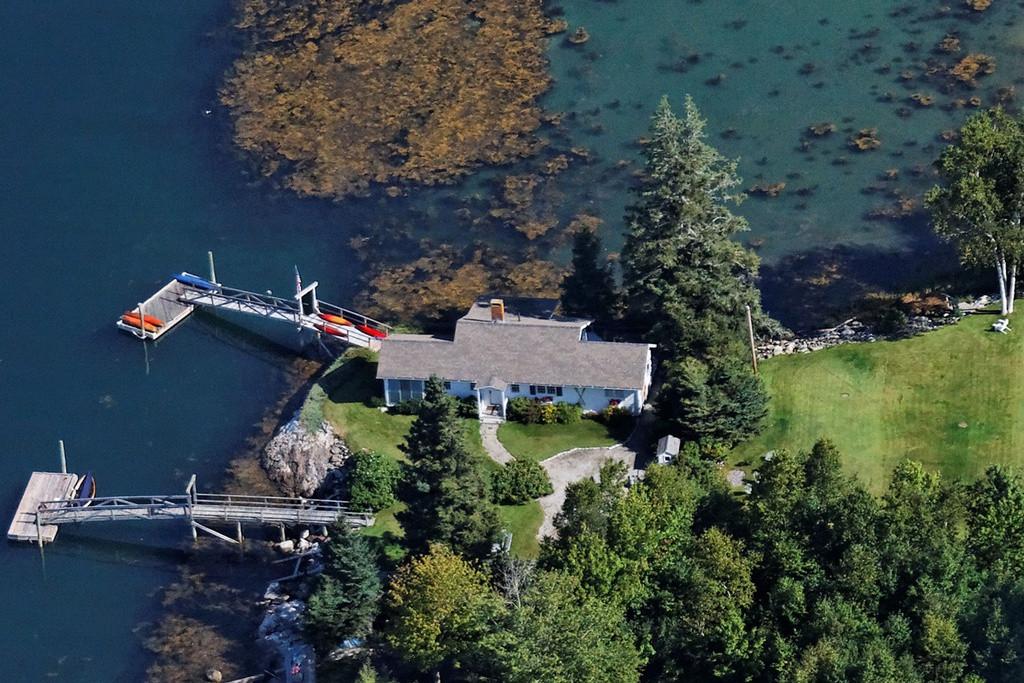 Aerial Rosewater Seaside