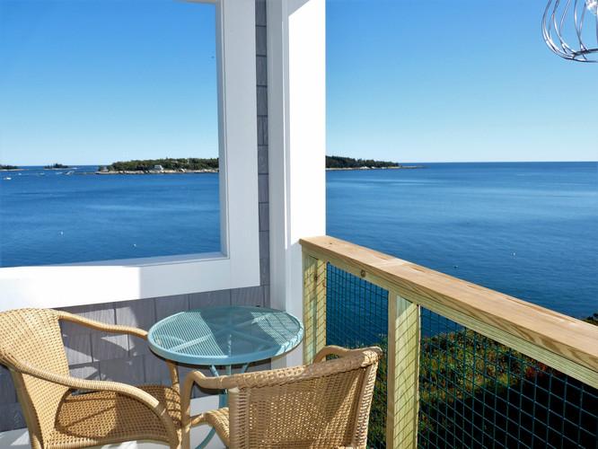 Seaside Cottage Balcony