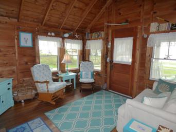 Ship's Wheel Living Room
