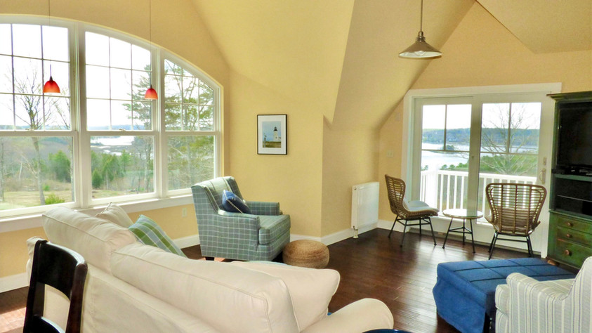 Grand Vista Upstairs Living Room and View