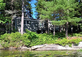 Loon Lookout from Water
