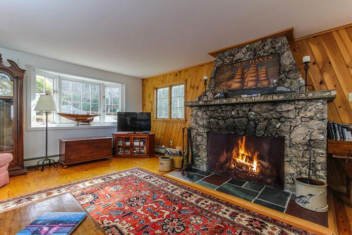 Interior Fireplace Hillside