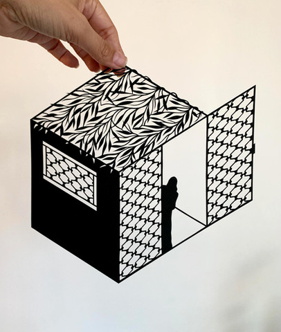 Sand Castle N.3, acid free paper, 22x22 cm, available