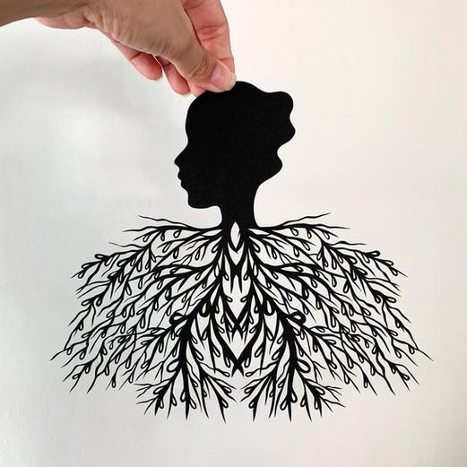 Breathe, acid free paper, 24x21 cm, available