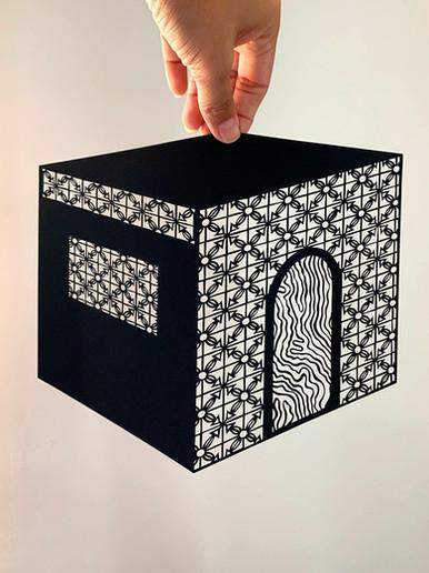 Sand Castle N.5, acid free paper, 21x20 cm, available