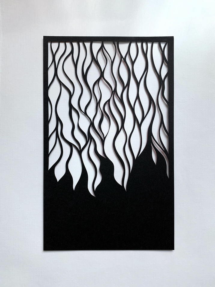 Fire, acid free paper, 14x23 cm, available