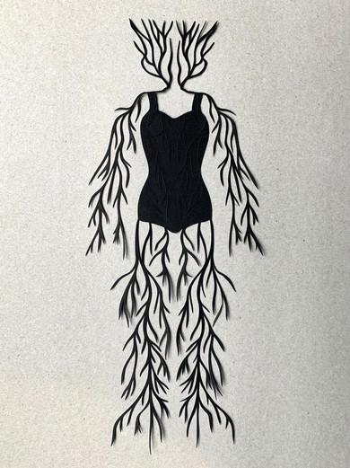 The Suit, acid free paper, 10x28 cm, available
