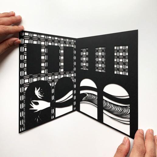 Sand Castle N.8, acid free paper, 22x20 cm, available