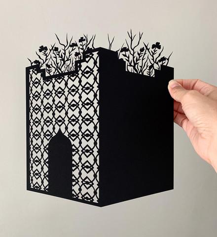 Sand Castle N.10, acid free paper, 20x25 cm, available