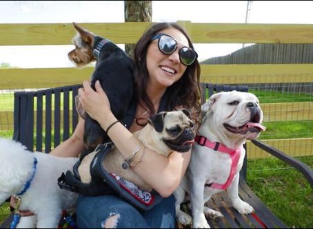 Sarah Ross + Dogs = Doin' Just Fine Lyric Video!