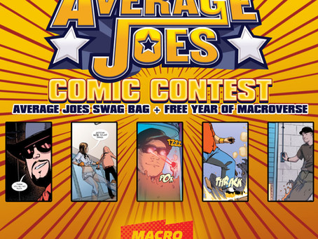 Enter To Win Average Joes Comic Contest