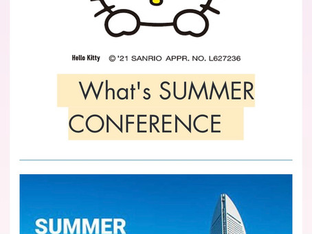 What's SUMMER CONFERENCE