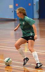 Women's Futsal Player