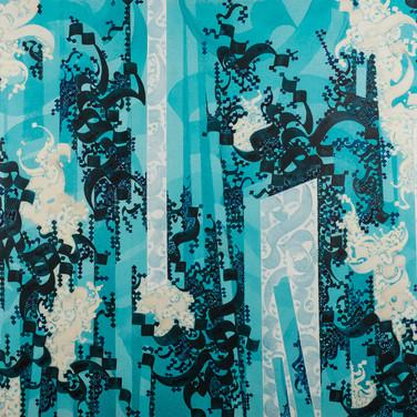 Size: 100 x 150 cm Technique: Acrylic on Canvas