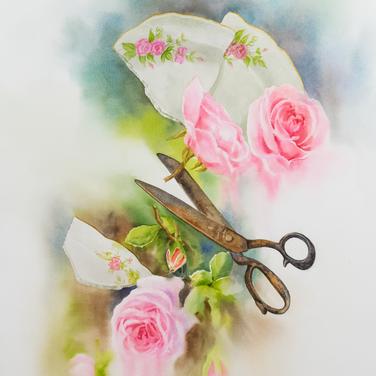 Size: 53 x 73 cm  Technique: Watercolour