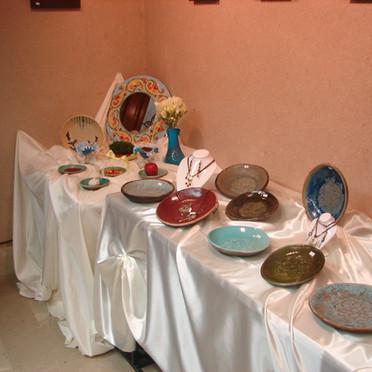 Grouped Exhibition-Zahra Dayani (Jewellery) and Sekineh Nader Khani (Pottery)