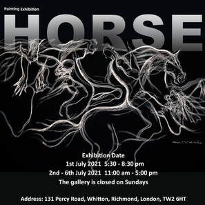 Horse Painting Exhibition 2021