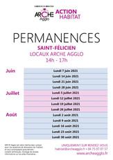 HABITAT PERMANENCES 2021 juin juil aout