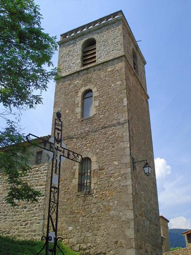 Le clocher carré