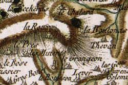 Carte de 1750