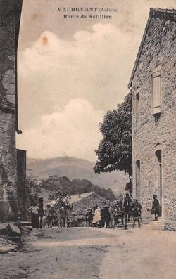 Route de Satillieu